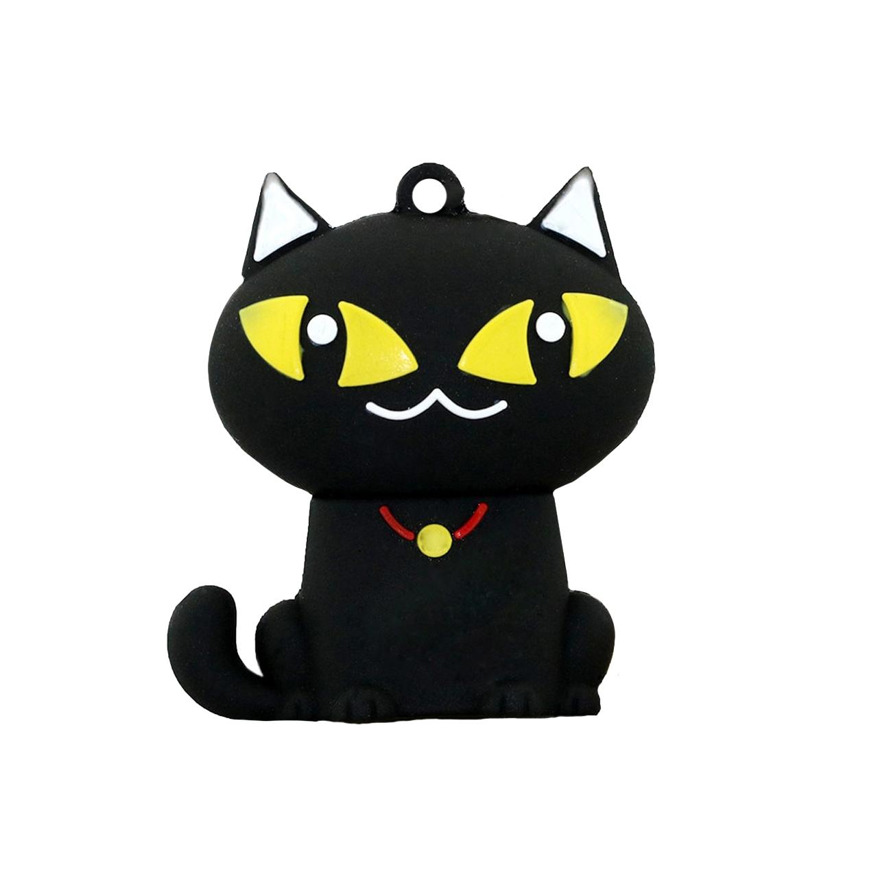 بررسی و {خرید با تخفیف} فلش مموری طرح Black Cat مدل DPL1177 ظرفیت 64 گیگابایت اصل