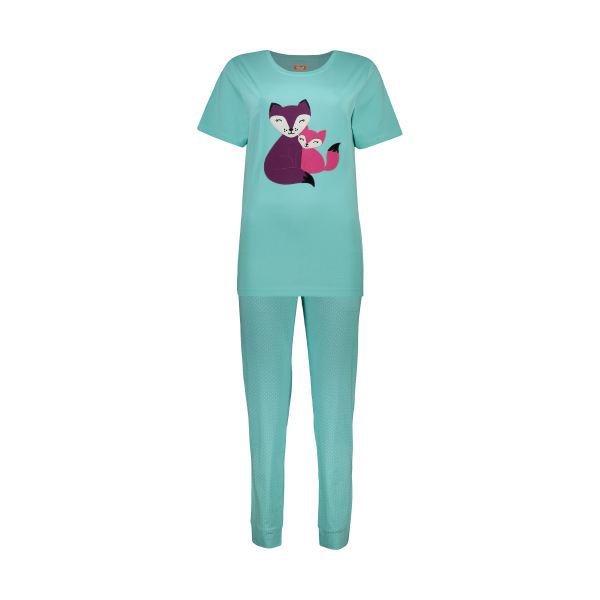 ست تی شرت و شلوار زنانه مادر مدل Billie410-54