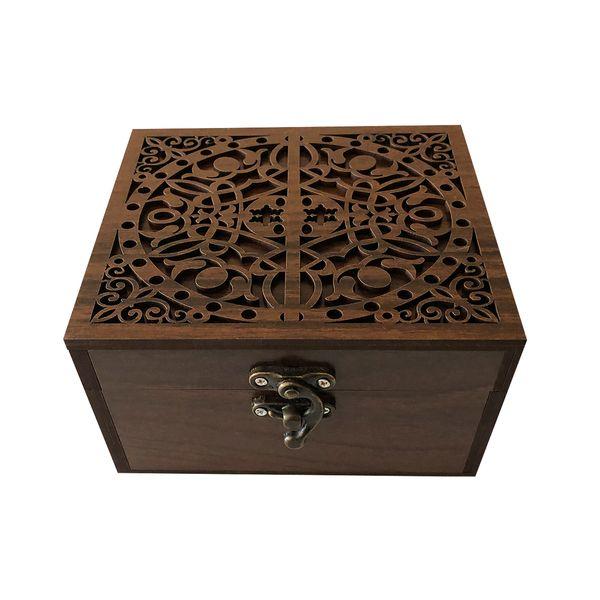جعبه هدیه چوبی مدل fj4