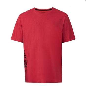 تیشرت آستین کوتاه مردانه لیورجی مدل 3385318 رنگ قرمز