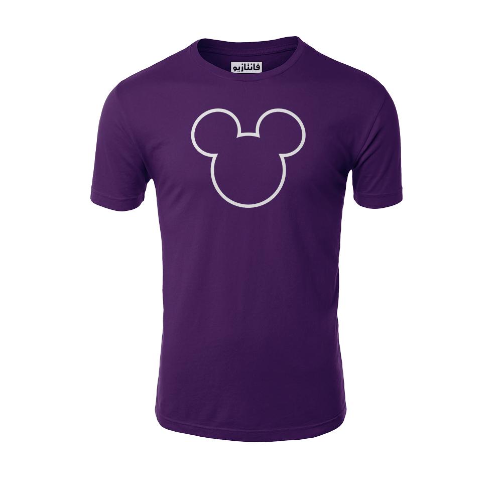 تیشرت آستین کوتاه مردانه فانتازیو طرح Minnie Mouse  مدل 291کد MM001
