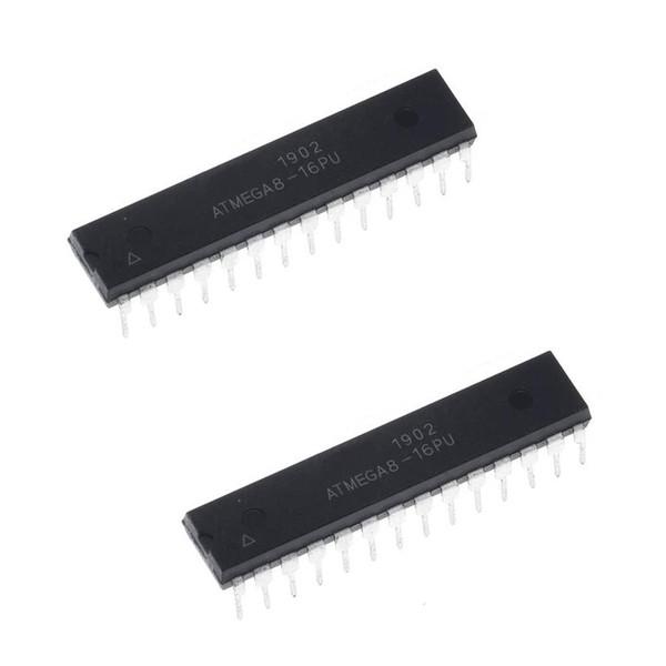 میکروکنترلر اتمل مدل ATMEGA8A مجموعه دو عددی