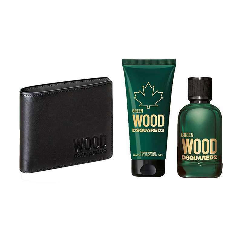 ست ادو تویلت مردانه دیسکوارد مدل Wood Green حجم 100 میلی لیتر