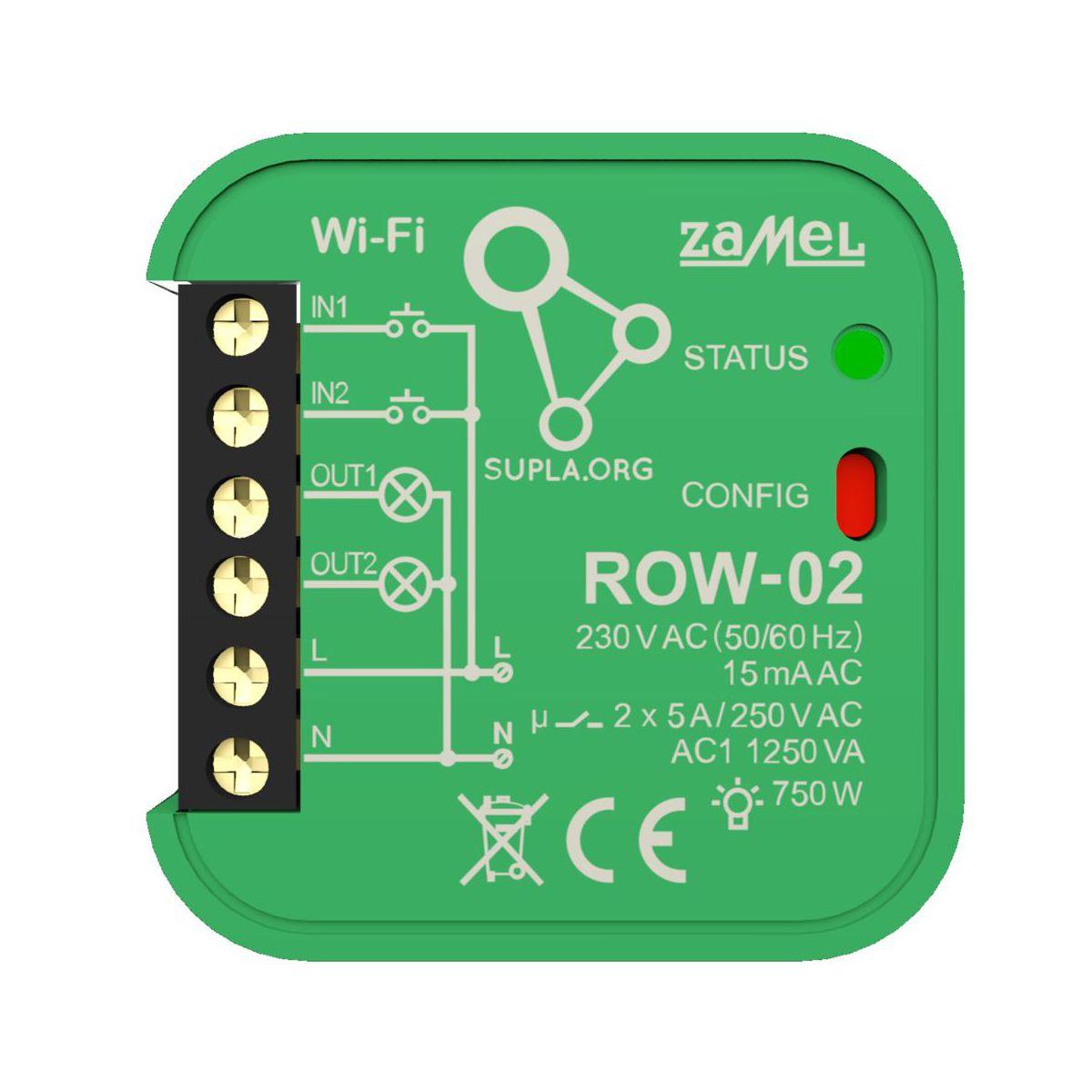 بررسی و خرید [با تخفیف]                                     سوئیچ هوشمند زامل کد ROW- 02                             اورجینال