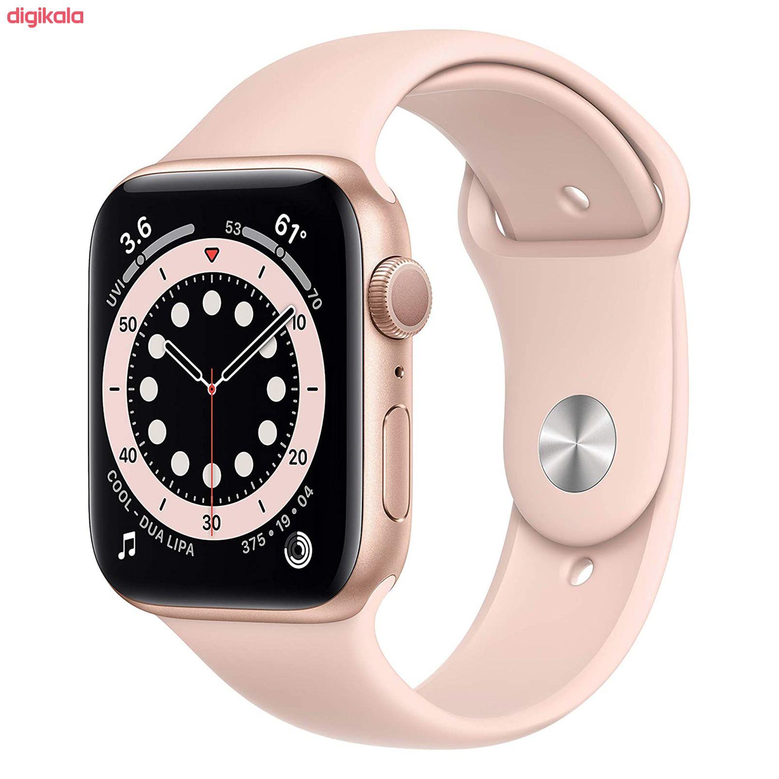 ساعت هوشمند اپل سری 6 مدل Aluminum Case 44mm main 1 16