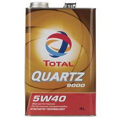 روغن موتور خودرو توتال مدل Quartz 9000 حجم 4 لیتر
