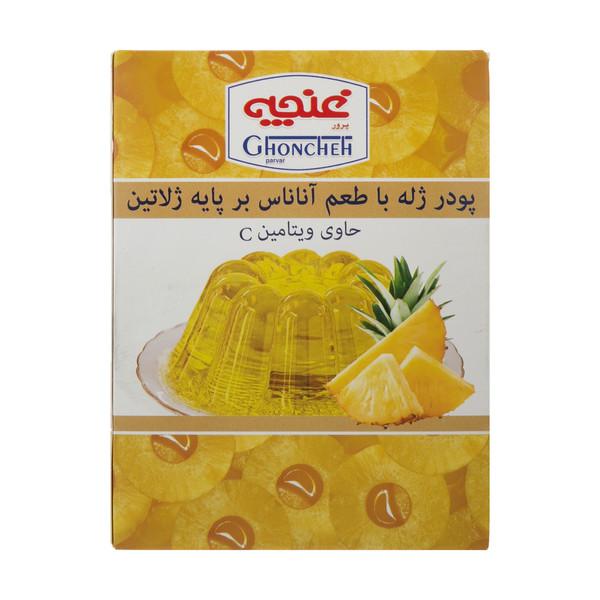 پودر ژله غنچه پرور با طعم آناناس - 100 گرم