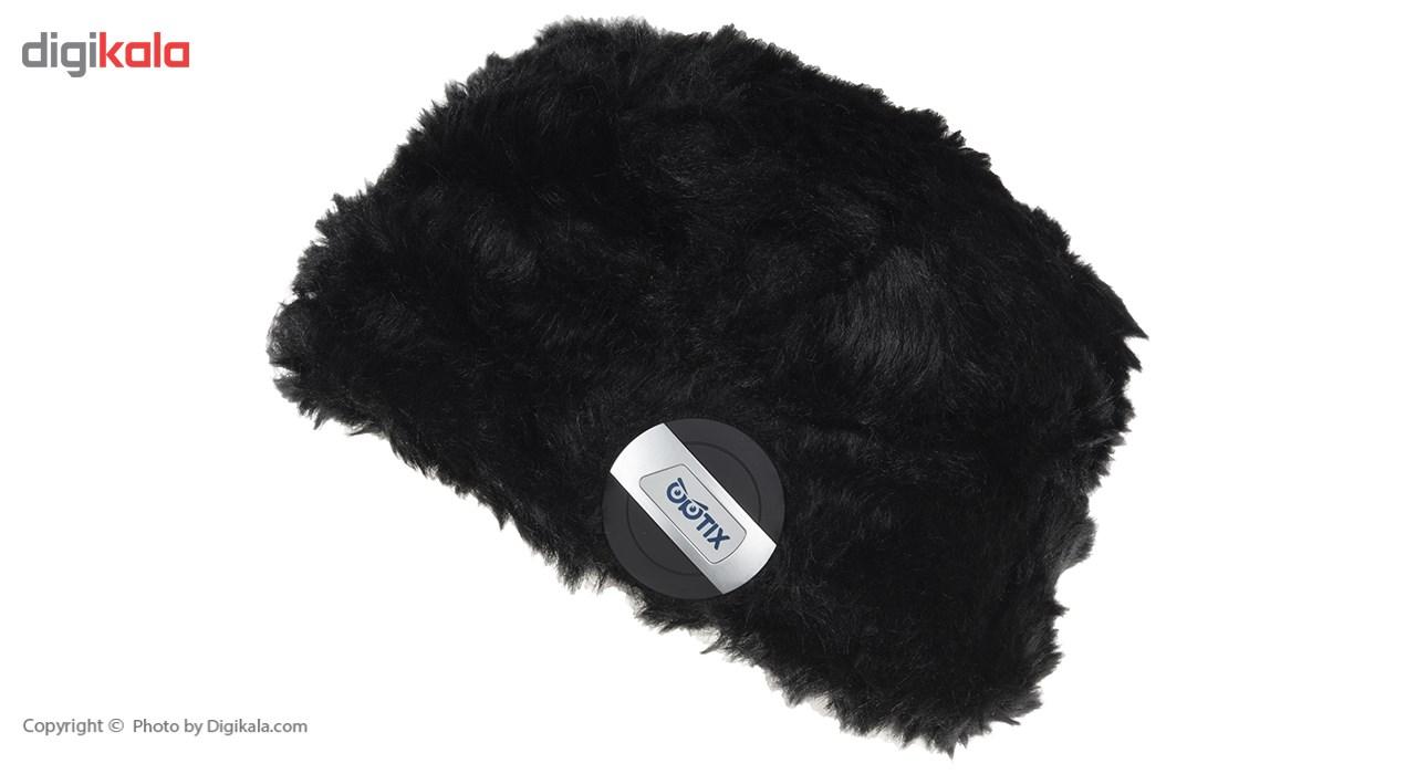 کلاه هدفون بی سیم اپتیکس مدل XO-1 همراه با شال گردن
