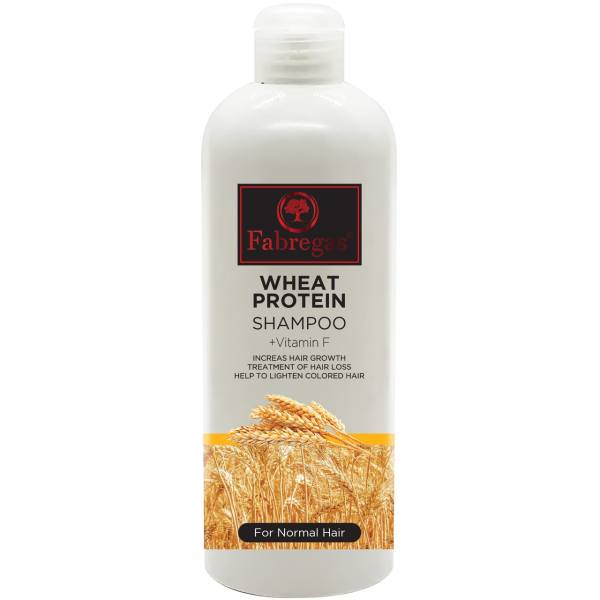 شامپو مو فابریگاس مدل Wheat Protein حجم 400 میلی لیتر