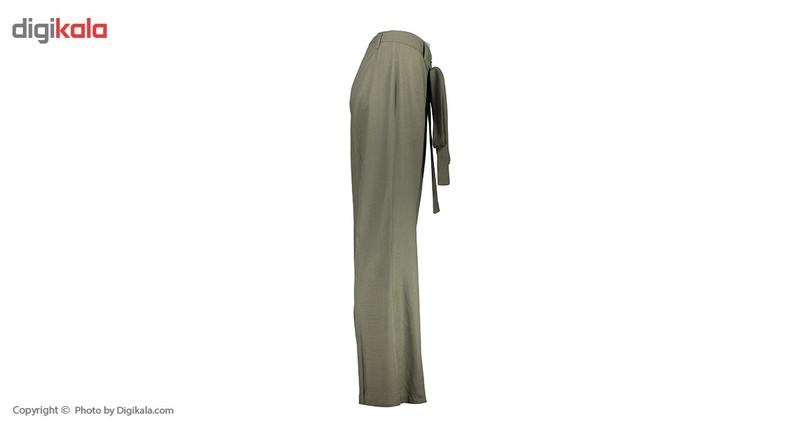 شلوار زنانه دمپا گشاد پارچه ای  یشمی مدل 231