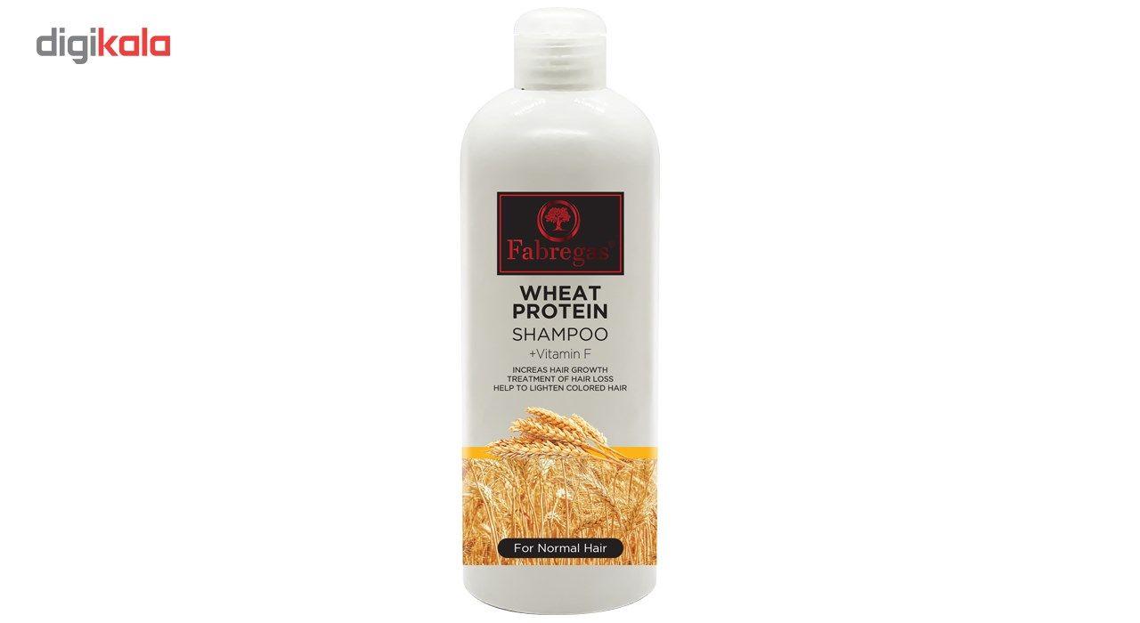 شامپو مو فابریگاس مدل Wheat Protein حجم 400 میلی لیتر main 1 1