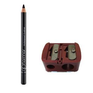 مداد چشم فلورمار مدل 101 به همراه تراش دوقلو