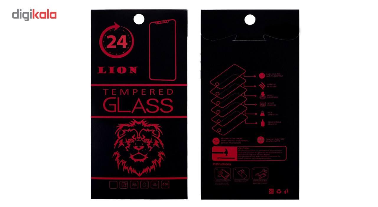 محافظ صفحه نمایش تمام چسب شیشه ای لاین مدل 5D مناسب برای گوشی اپل آیفون 6/6s main 1 5