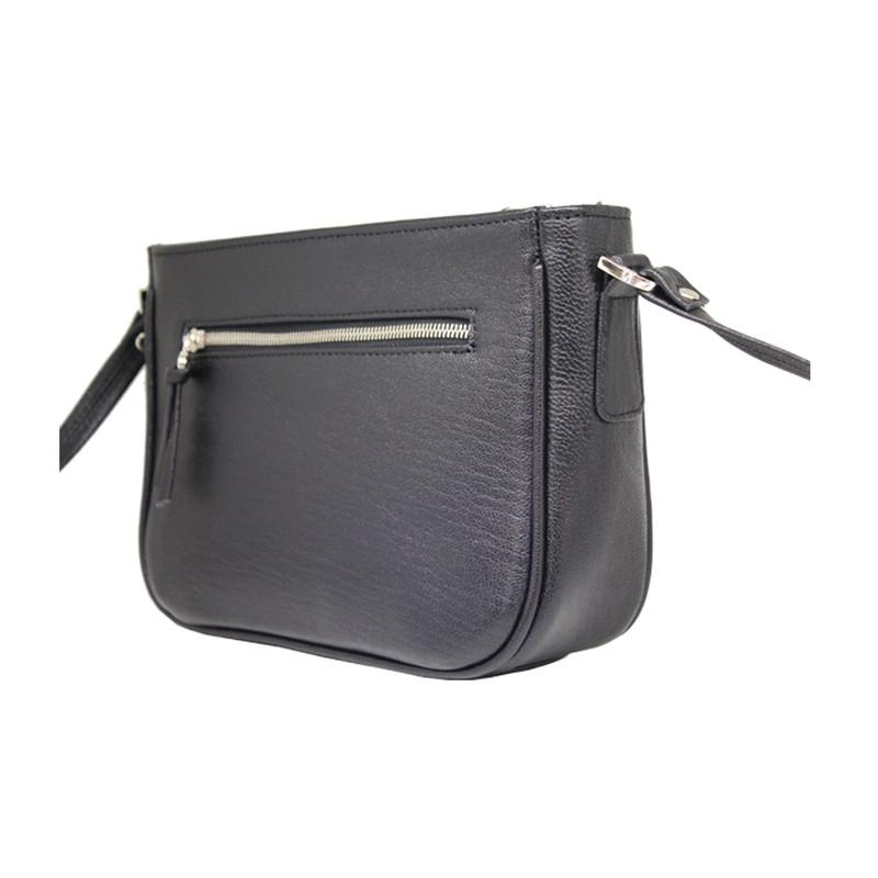 کیف دوشی زنانه چرم آرا مدل d074