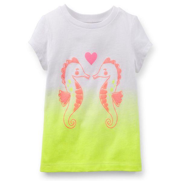 تی شرت آستین کوتاه دخترانه کارترز مدل 666