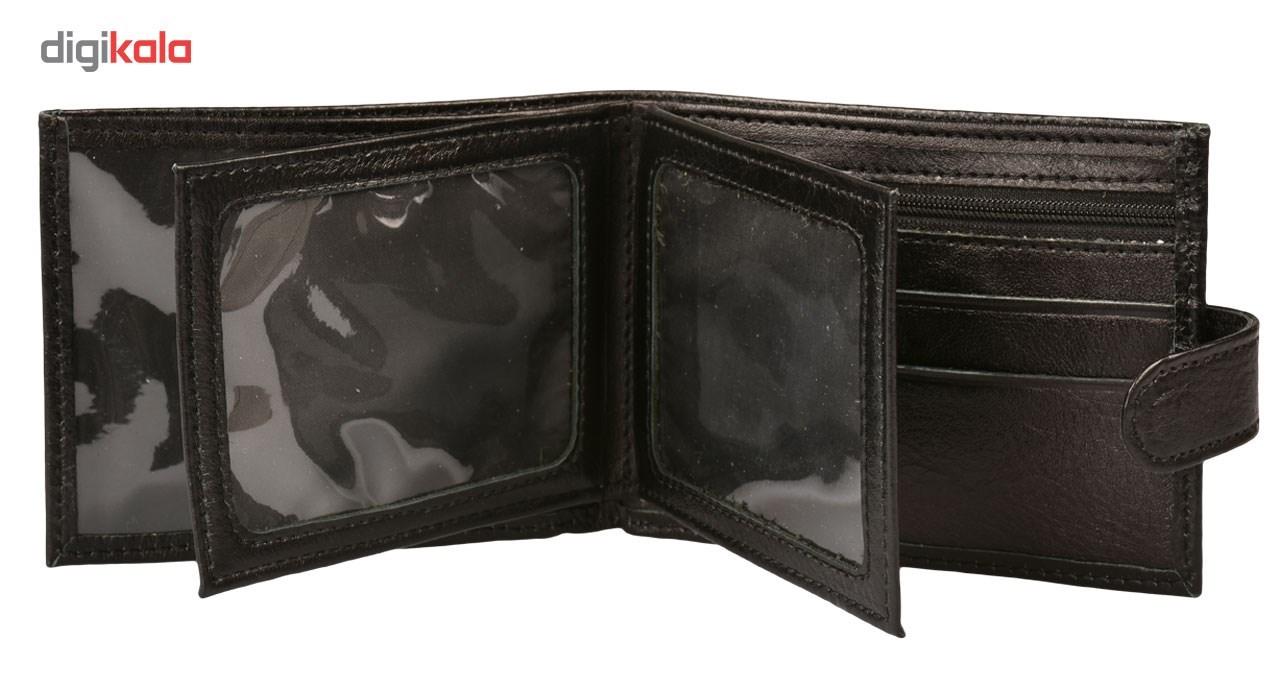 کیف پول کهن چرم مدل LP1-50