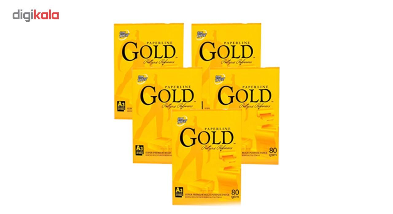 کاغذ گلد سایز A5 بسته 500 عددی main 1 1