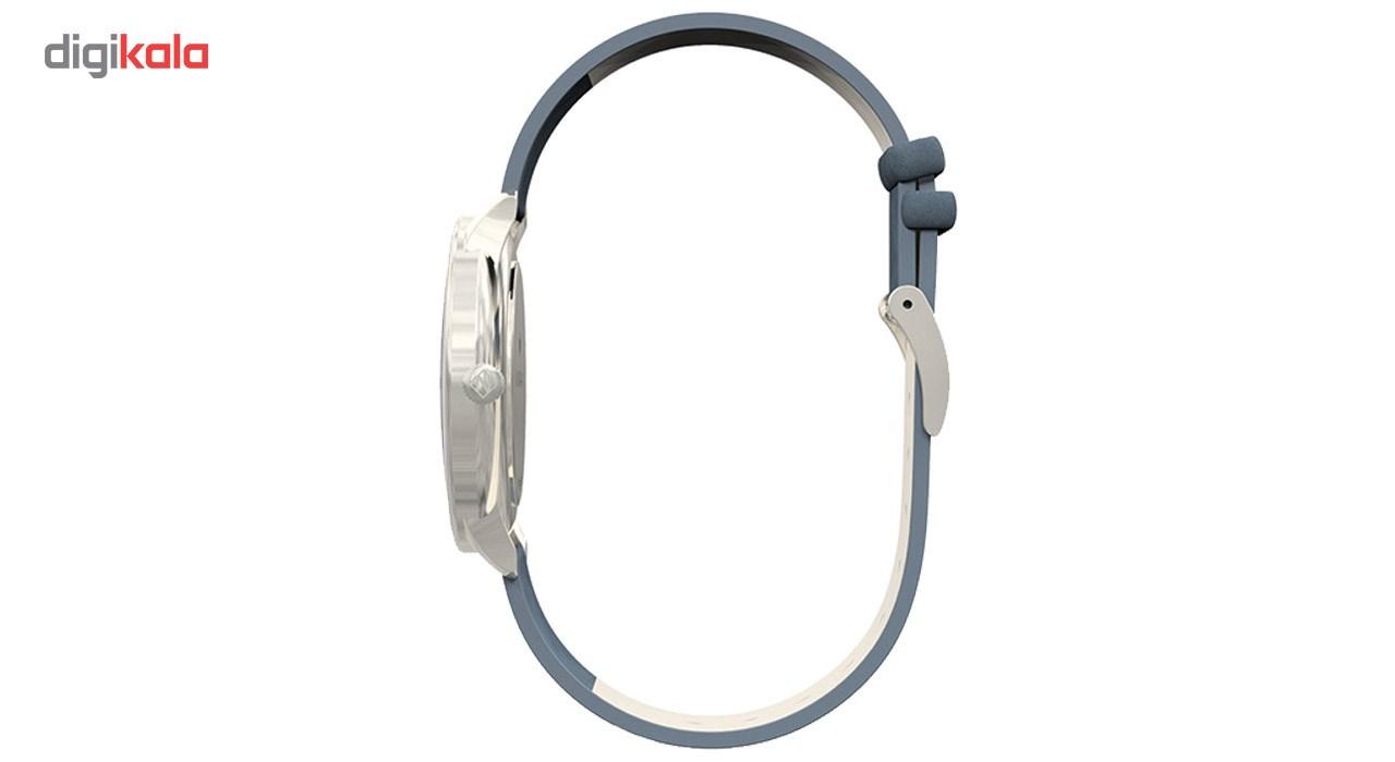 ساعت مچی عقربه ای نیوگیت مدل The Blip Navy Blue Nubuck strap