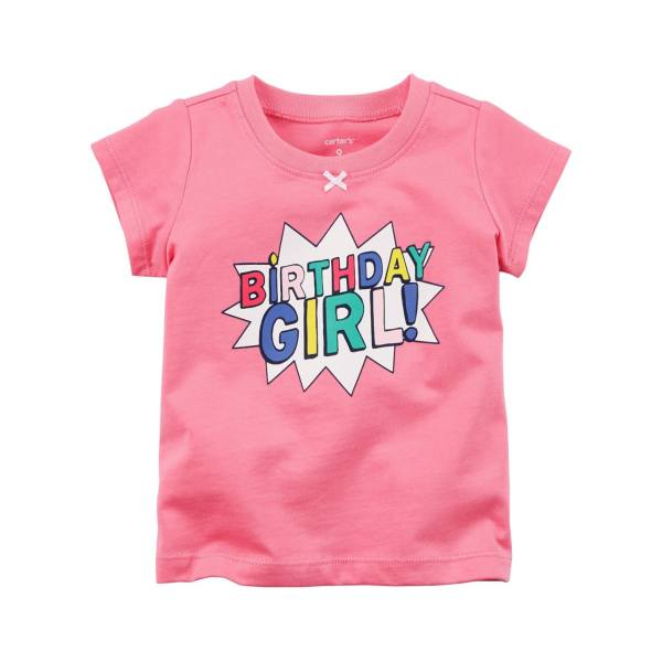 تی شرت آستین کوتاه دخترانه کارترز مدل 664