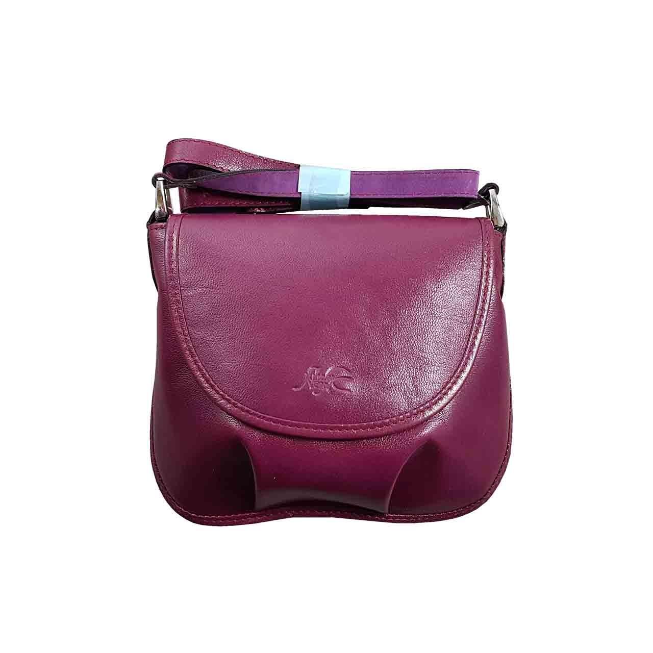 کیف دوشی زنانه چرم نگار مدل CN-207043