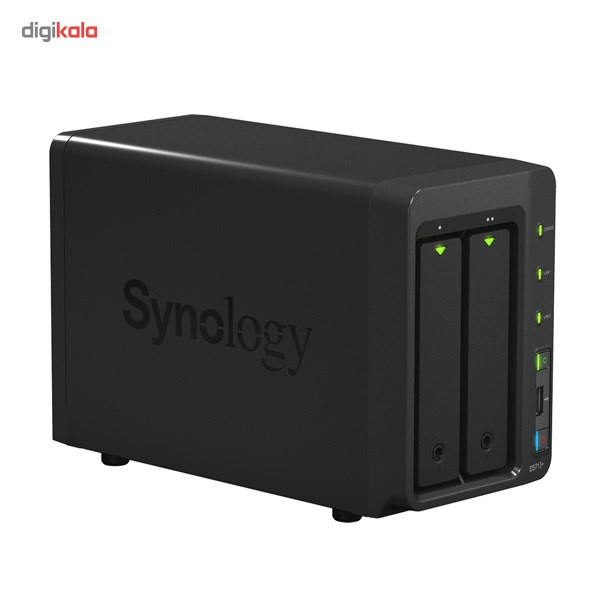 ذخیره ساز تحت شبکه 2Bay سینولوژی مدل دیسک استیشن +DS713