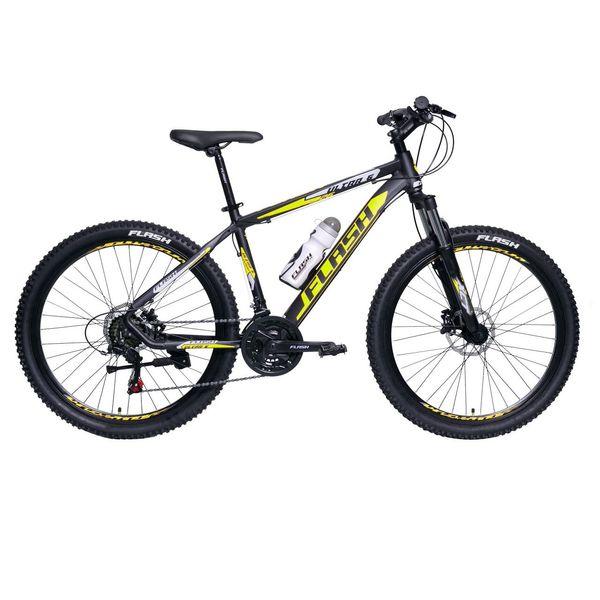 دوچرخه کوهستان فلش مدل ULTRA6 matt/yellow سایز 26