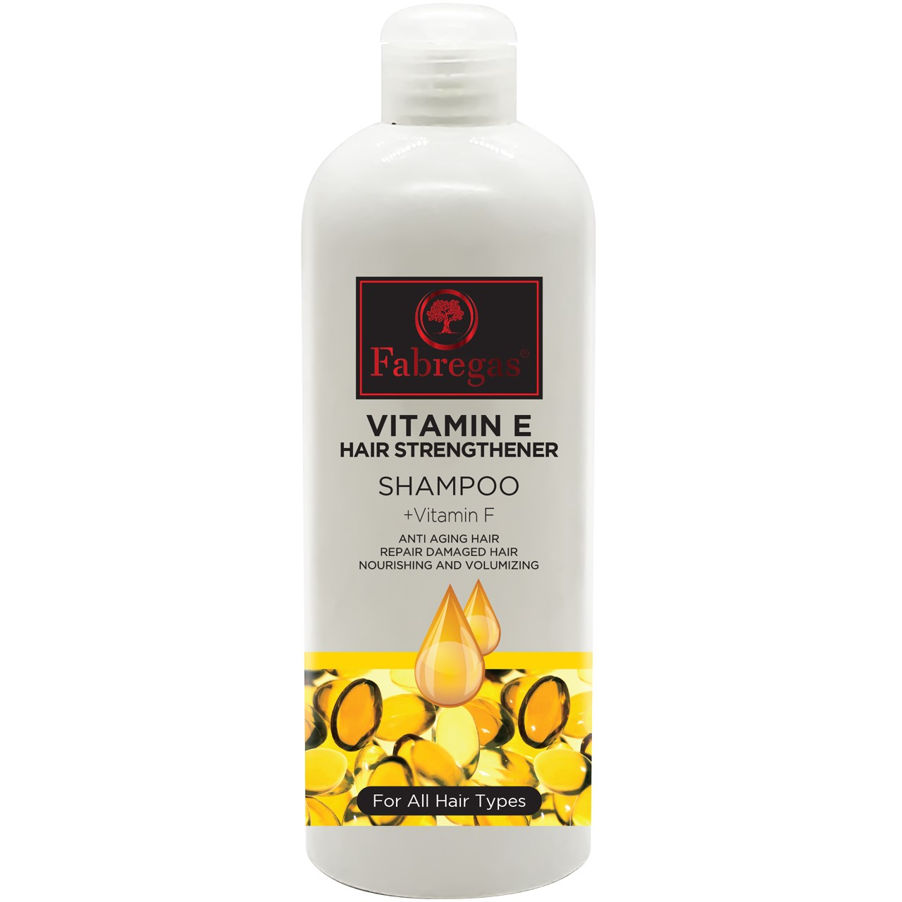 شامپو مو ترميم كننده فابريگاس مدل Vitamin E حجم 400 ميلي ليتر
