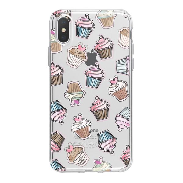 کاور ژله ای وینا مدل Cupcake مناسب برای گوشی موبایل آیفون X / 10
