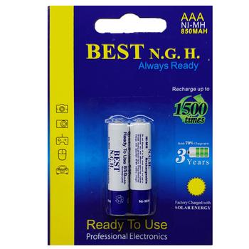 باتری نیم قلمی قابل شارژ بست مدل Always Ready بسته 2 عددی