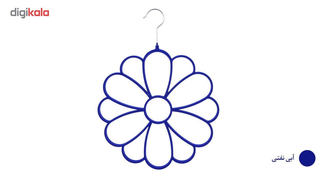 آویز شال و روسری دیارا مدل Flower main 1 3