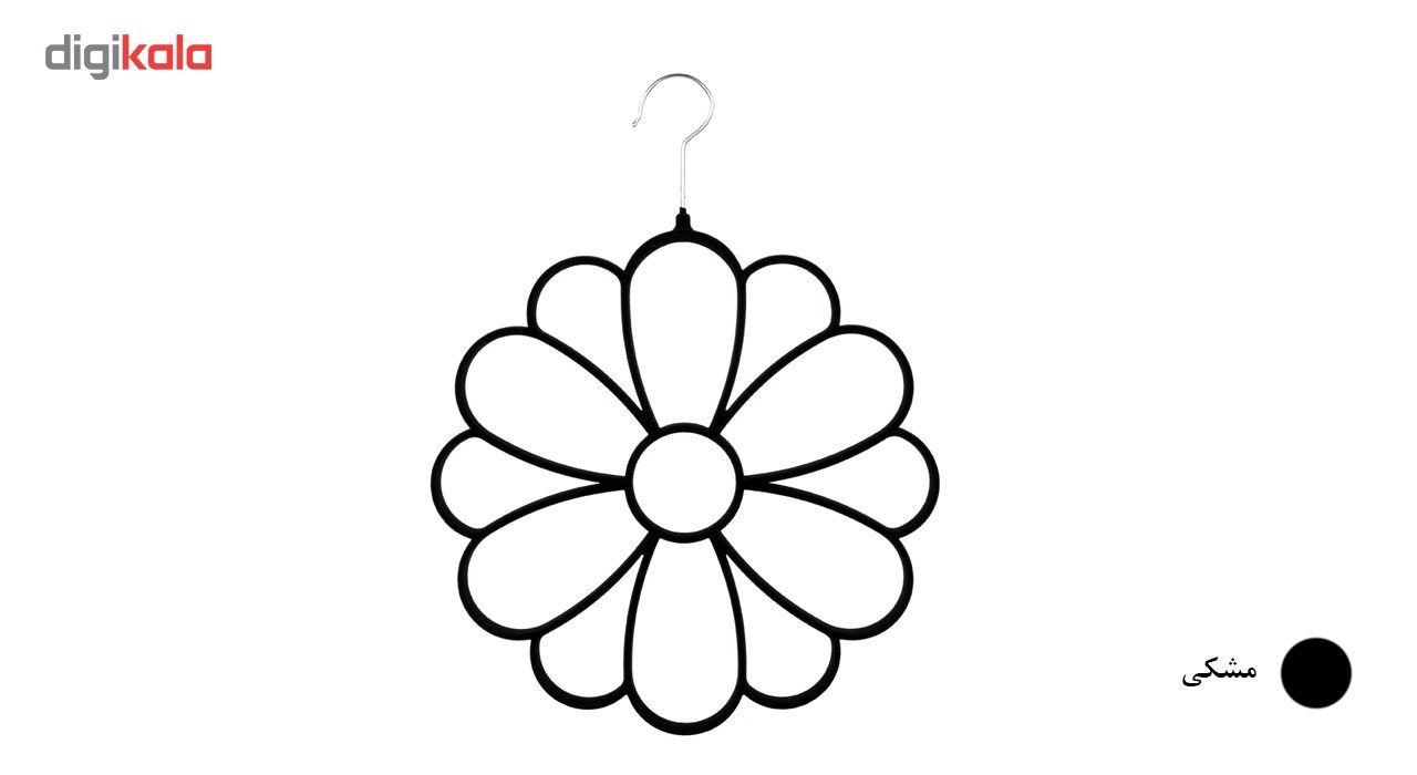 آویز شال و روسری دیارا مدل Flower main 1 4