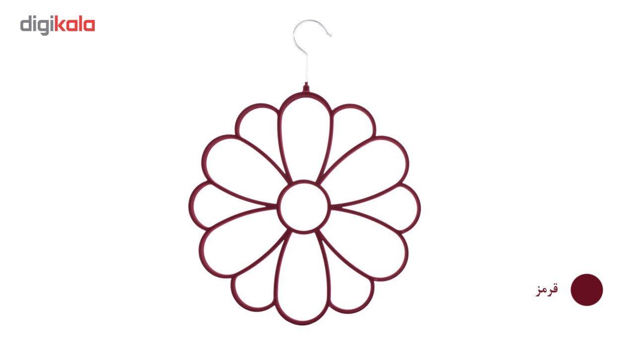 آویز شال و روسری دیارا مدل Flower main 1 6