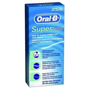 نخ دندان اورال-بی  مدل Super
