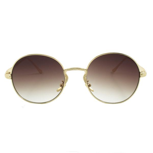عینک آفتابی ویلی بولو مدل Round Brown Collection
