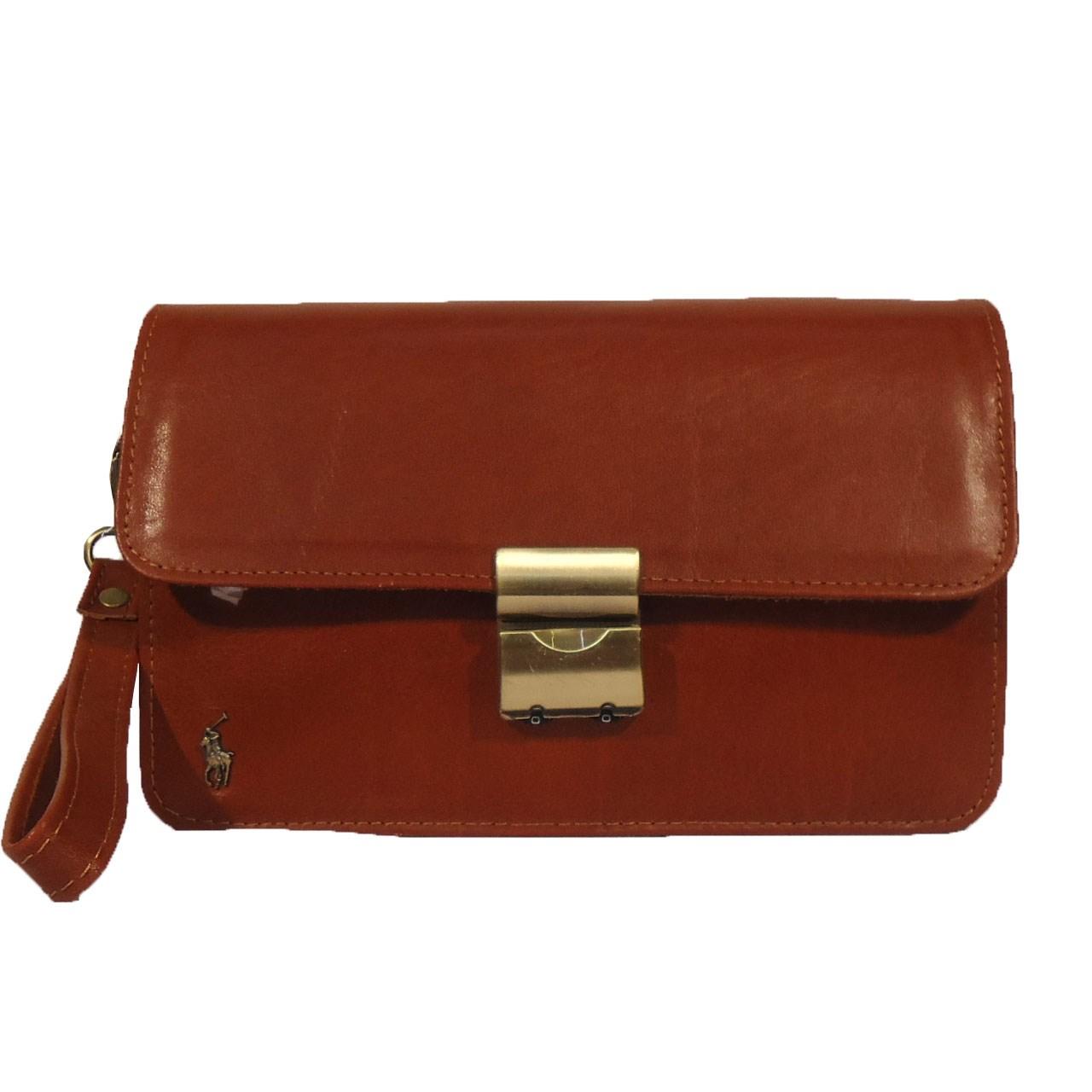 قیمت کیف پاسپورتی چرم مردانه سالار مدل E147