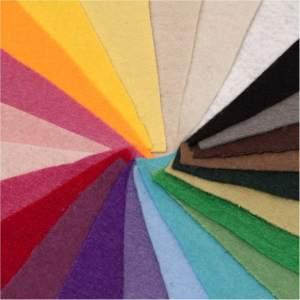 بسته ی 24 رنگی نمد ایرانی هنری ساز کد 1304
