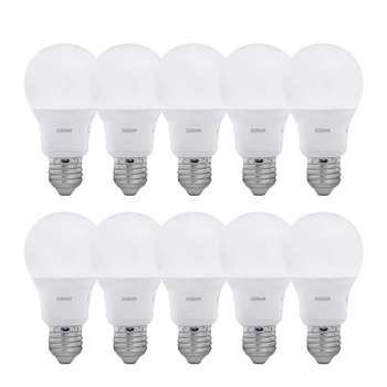 لامپ ال ای دی 8.5 وات اسرام مدل حبابی پایه E27 بسته 10 عددی