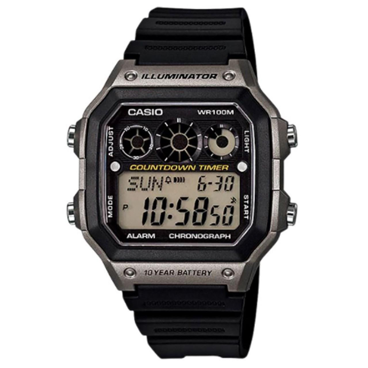 ساعت مچی دیجیتالی  کاسیو مدل AE-1300WH-8AVDF 55