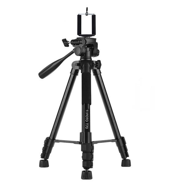 سه پایه دوربین تی فوتو مدل T70