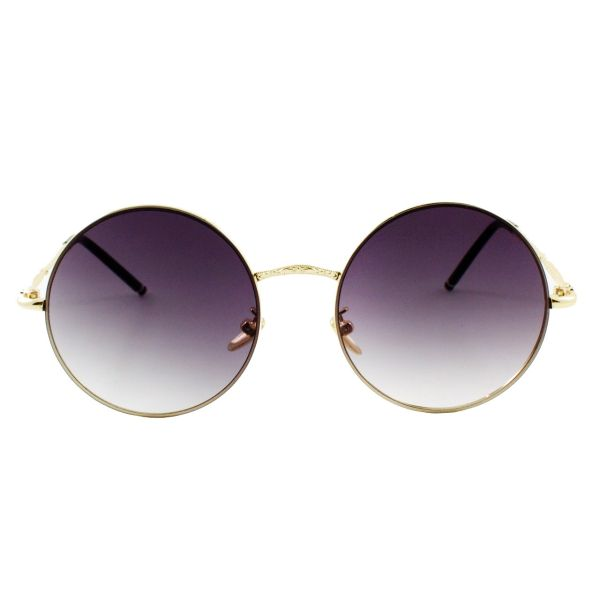 عینک آفتابی ویلی بولو مدل Pure Grey Golden Round