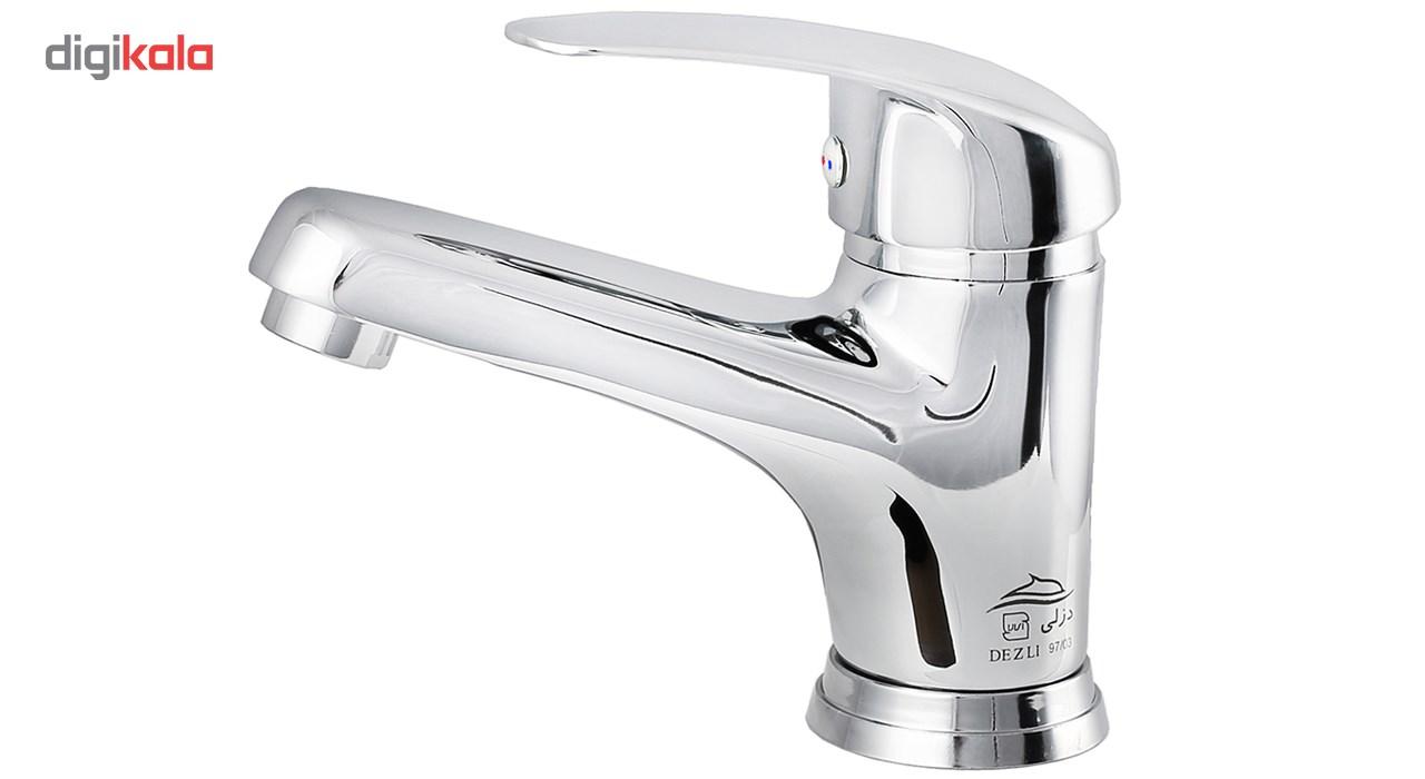 شیر روشویی دزلی مدل ونیز Dezli Veniz Basin Faucet