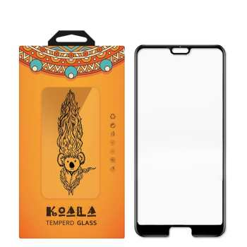 محافظ صفحه نمایش شیشه ای کوالا مدل Full Cover مناسب برای گوشی موبایل هوآوی P20 Pro