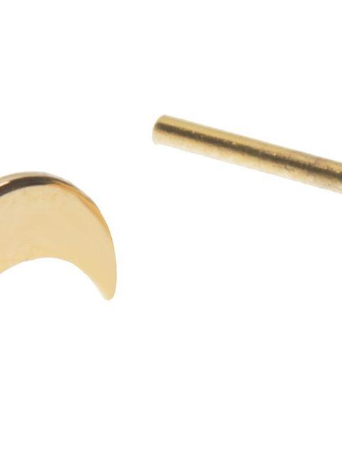 گوشواره طلا 18 عیار رزا مدل EG116 -  - 1