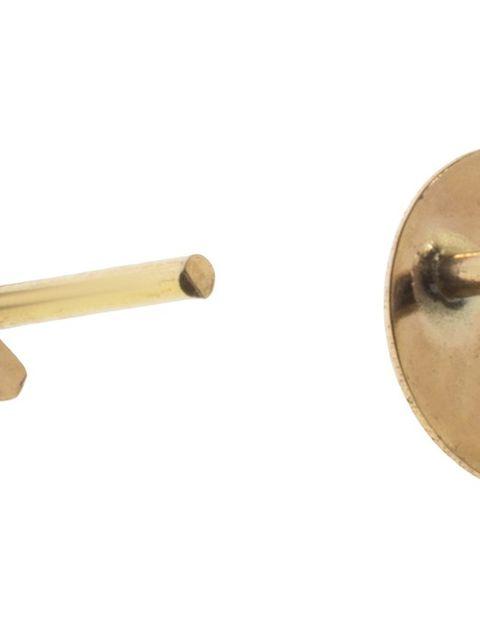 گوشواره طلا 18 عیار رزا مدل EG116 -  - 2