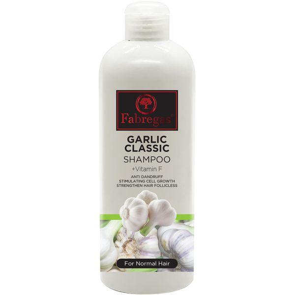 شامپو مو فابریگاس مدل Garlic Classic حجم 400 میلی لیتر