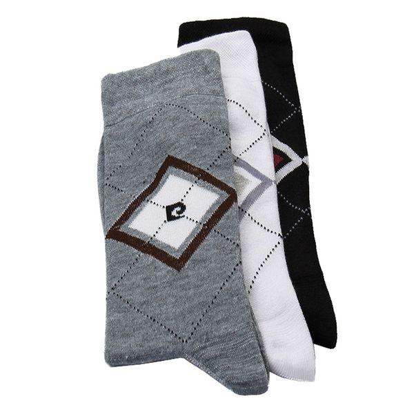 جوراب مردانه مدل P-BLACK بسته 3 عددی