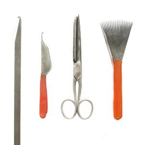 مجموعه ابزار قالی بافی فرش بهزاد کد 1