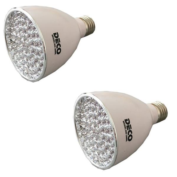 لامپ ال ای دی دکو آفتابی مهتابی مدل 2060L پایه E27  بسته 2 عددی