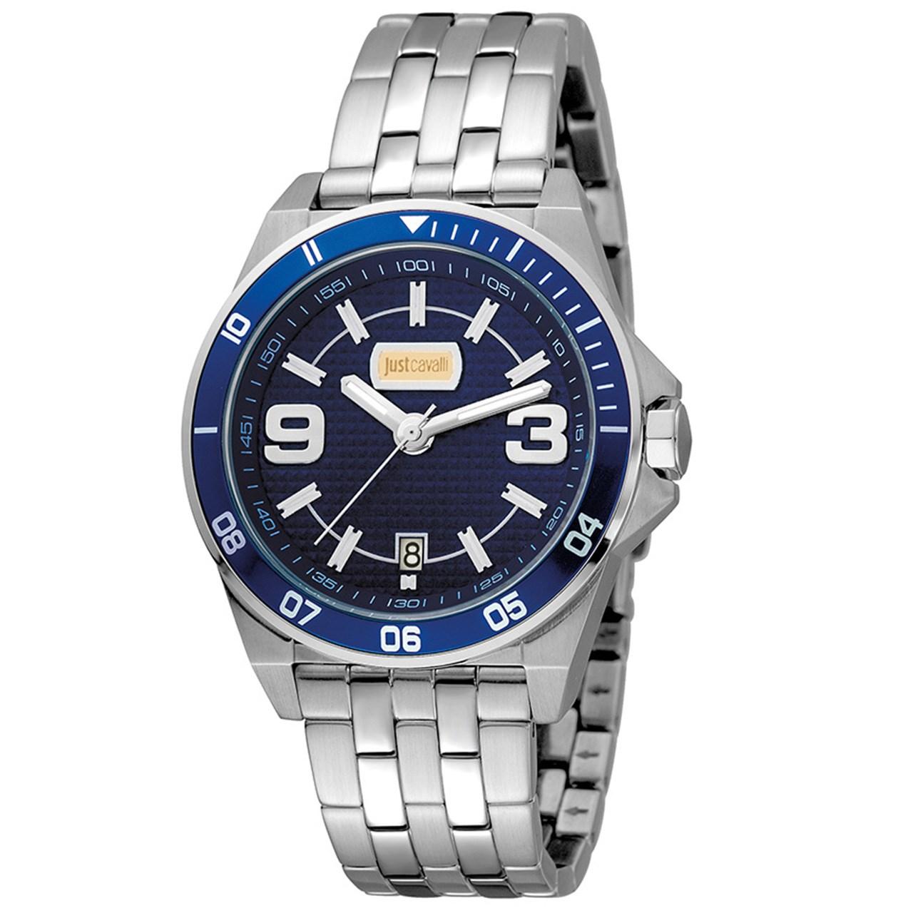 ساعت مچی عقربه ای مردانه جاست کاوالی مدل JC1G014M0075