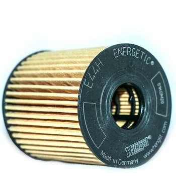 فیلتر روغن پایه کوتاه هنگست آلمان مدل E44H D110 مناسب برای پژو 206
